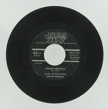 LEAL PESCADOR Latin Jazz Single Relicario/Gracia Espanola TICO 45 Vinyl Record