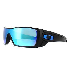 Oakley Sunglasses Batwolf OO9101-58 Polished Black Prizm Sapphire