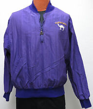 vtg Starter CAMEL PURPLE Jacket LARGE 90s Smokin' Joe Racing cigarettes pullover