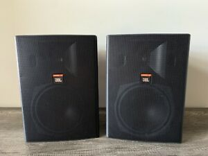 JBL Control 28 High Output Professional Indoor/Outdoor Speaker PAIR Great Shape