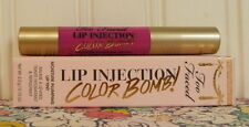 NEW IN BOX - TOO FACED LIP INJECTION COLOR BOMB! LIP TINT - PLUMP IT UP PINK
