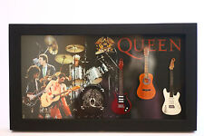 RGM8831 Brian May Queen Miniature Guitars in Shadowbox Frame
