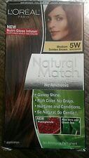 L'Oreal Paris Natural Match Medium Golden Brown 5W Hair Color