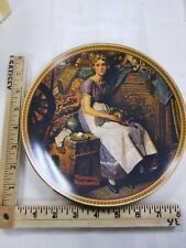 """Knowles - """"Dreaming in the Attic"""" - Norman Rockwell - Collectors Plate"""