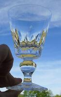 Saint Louis - Verre à vin blanc en cristal taillé, modèle Jersey