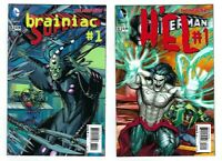 2 SUPERMAN #23 3D Cover Variants 23.2 BRAINIAC #1 23.3 H'EL #1 NM/M! DC New 52!
