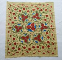Wall Hanging Best Gift Uzbek Hand Embroidery Vintage Suzani SALE WAS $250.00