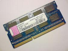 4GB DDR3-1333 PC3-10600 KINGSTON ASU1333S9-4G-ECEWG LAPTOP RAM MEMORY SPEICHER