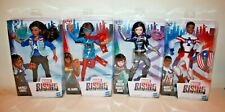 "Lot of 4 MARVEL RISING 12"" Dolls - QUAKE MS MARVEL AMERICA CHAVEZ PATRIOT"
