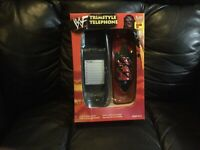 RARE 1999 WWF Kane Mask Trimstyle Phone/Collectible/1999 Vintage/NIB/20 YRS. Old