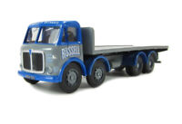 AEC Mammoth Major flatbed 'Russell of Bathgate'  1/76 Oxford,Hornby 00 ref gj