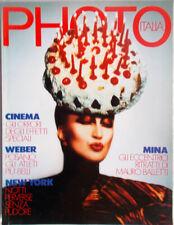 ✅rivista PHOTO 1990/176 La tigre in vetrina MINA by Mauro Balletti Bruce Weber