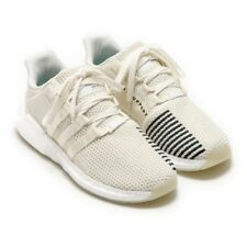 the latest 91ead e512c adidas EQT Support 9317 Cream Mens Bz0586 off White Knit Running Shoes  Size 14