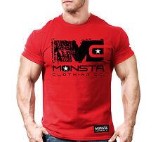 Monsta Clothing Fitness Gym T-shirt - MC ICON Signature Series