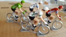 La Vuelta: Pack maillots distinctifs - Petit cycliste Figurine - Cycling figure