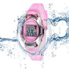 Resistente Al Agua Estudiantes Niño Niña Reloj Alarma Digital Fecha Cuarzo SP