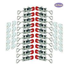 Stainless Steel Toggle Latch Clamp Adjustable Self Locking Buckle Lockset Of 20
