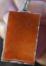 Jadeite Diamond White Gold Fine Necklaces & Pendants