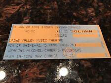 AC/DC CONCERT TICKET STUB - ALPINE VALLEY MUSIC THEATER - WISCONSIN - 6-28-1991