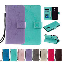 Magnetic Wallet Card Stand Flip PU Case Cover For LG Q70/Q60/Stylo 5/K50/G7/V30