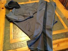 Boys L Hoodie Sweatsuit Athletic Set Gray Size M Pants