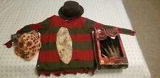 Deluxe Adult Freddy Krueger Elm Street Halloween Costume one of a kind