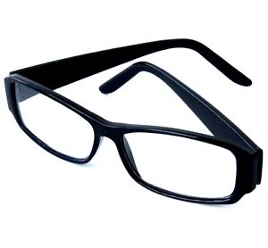 4x Lesebrille Lesebrillen Brille Lesehilfe Sehhilfe Augenoptik Brillen  Schwarz
