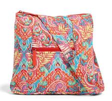 Vera Bradley Hipster Crossbody 'Paisley in Paradise' Messenger Handbag Purse Bag