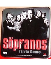 New Sealed 2004 HBO Sopranos Trivia Board Game in Collectors Tin