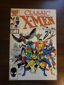 Classic X-Men 1 High Grade 9.2 Marvel Comic Book