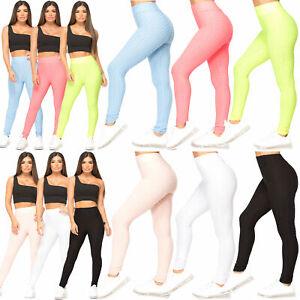 Women's Anti-Cellulite Honeycomb Yoga Pants Trousers Push Up Sports Gym Leggings