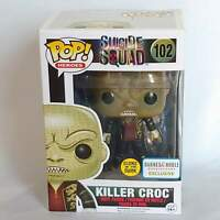 KILLER CROC #102 Glows in Dark Suicide Squad FUNKO POP! HEROES - Barnes & Noble