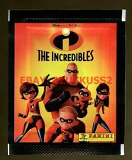 The Incredibles Disney Panini Packet Pack Stickers Sealed