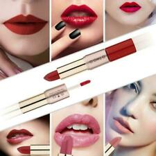 O.TWO.O 2 In 1 double-head lipstick matte lip liner makeup Durable R3G8