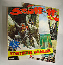 2 x Finnish Don Lawrence STORM Albums (T1 & T2), 1984-85