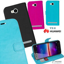 Wallet Flip Card Slot Stand Case Cover For Huawei 4G Y311 / Y3 II / Y3 2
