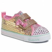 Skechers Twinkle Toes Shuffle Lite Mini Mermaid Kid's Toddler Light Up Shoes
