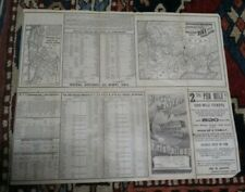 1885 New York, Lake Erie and Western Railroad Timetable - Eastern Section