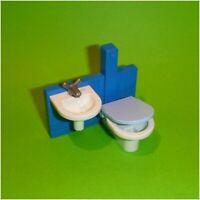 Playmobil - WC Toilette und Waschbecken