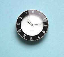 45mm BEZEL Quartz watch inserts black facet lens Roman numbers chrome bezel