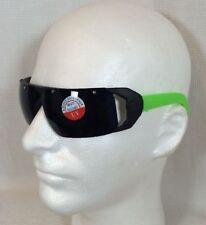 Vintage 80's Wrap Around Green Beach Sunglasses Surfer Skateboard Retro Hipster