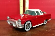 Vintage Buddy L Ford Thunderbird Die Stamped Metal And Plastic Car Made In Japan