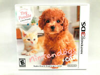 NINTENDO 3DS GAME - Toy Poodle and Friends Nintendogs + Cats Complete w/manual