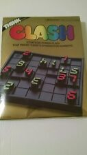 CLASH 1986 Pressman Number Strategy Game THINK Brain Game New