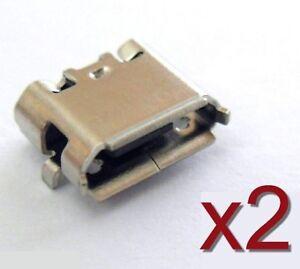 2x connecteur à souder micro USB type B femelle / 2pcs female connector solder