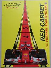 Museo Casa Enzo Ferrari 2016 Modena Red Carpet POSTER strettamente no brochure prospetto