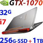 """NEW ASUS ROG G752VS Quad Core i7 32GB 256G SSD + 1TB 17.3"""" FHD GTX1070-8G Gaming"""