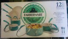 Farberware Cookware Set PURECOOK Collection Aluminum Ceramic Nonstick 12-piece