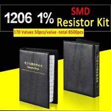 1206 Smd Resistor Sample Book 1 Component Assortment Kit 170 Values Each 50pcs
