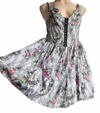 Rayon Casual Retro Dresses for Women